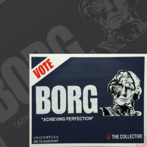 Borg Election Sign